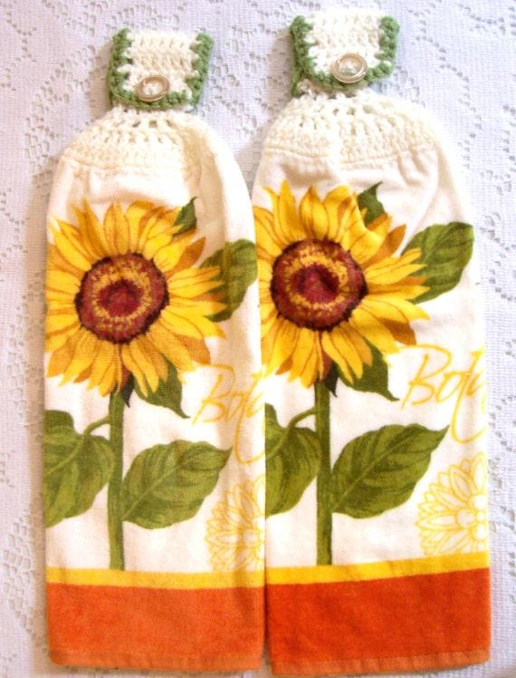 Sunflower Kitchen Towel Set