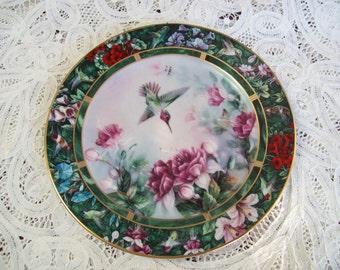 Lena Liu's Hummingbird Treasury, Second plate in Collection  1992
