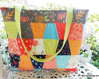 The Aubri Tote Bag Pattern PDF