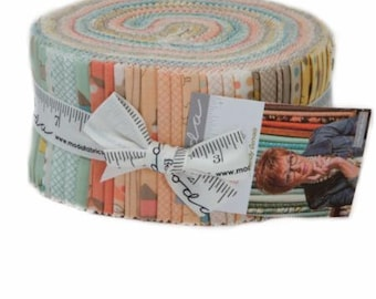 SUMMER SALE - Corner of 5th and Fun - Jelly Roll - Sandy Gervais - Moda Fabric