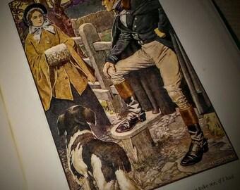 Charlotte Bronte'  Illustrated Novel, Jane Eyre at Nestbox Vintage