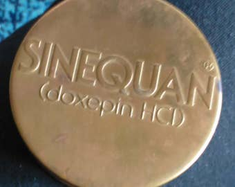 Sinequan Doxepin HCI Magnifying Glass, Brass