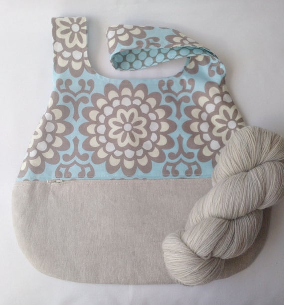 knitting crochet sock shawl scarf project bag - japanese ...