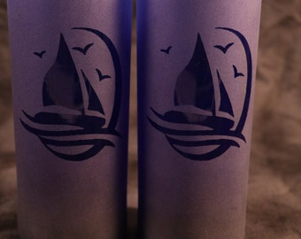 NEW ITEM Sailboat tall tumbler