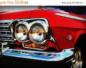 HOLIDAY CLEARANCE 1963 Classic Chevrolet Impala - Classic Car - Garage Art - Pop Art - Fine Art Photograph