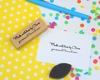 Card Makers Stamp - Handmade - Personalised