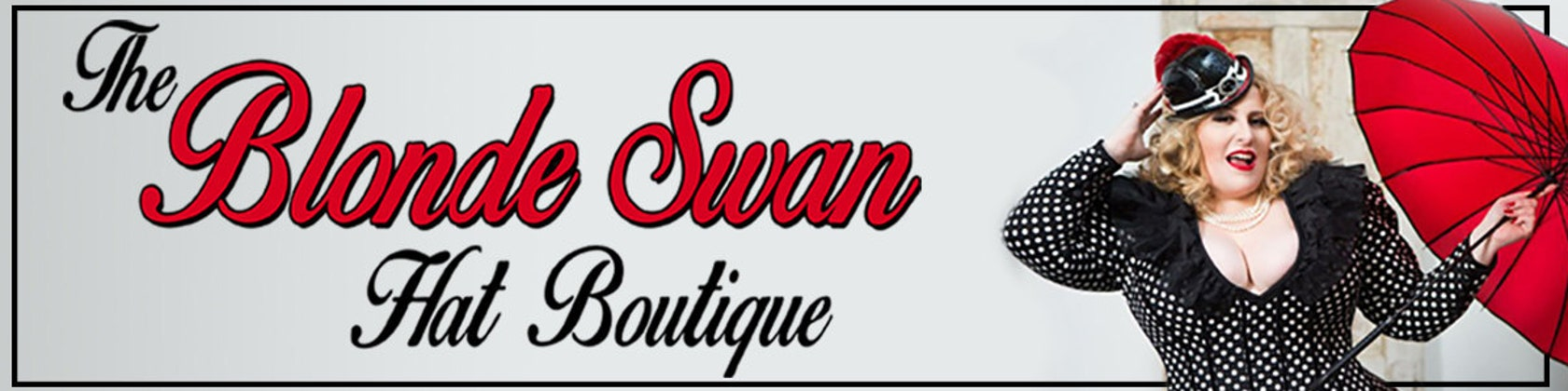 the blonde swan hat boutique by theblondeswan on etsy