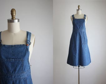 1970s overall dress