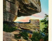 Vintage North Carolina Postcard - The Opera Box at Chimney Rock (Unused)
