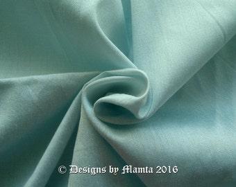 Baby Blue Dupioni Indian Silk Fabric, Art Silk Dupioni Fabric By The Yard, Sky Blue Art Silk, Bridesmaid Fabric, Celeste Blue Dupioni Silk