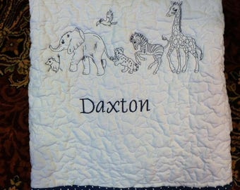 Baby Quilt - Reserved for David
