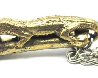 Thai Paladkik Crocodile ,penis amulet pendant ,wealthy,prosperity key ring key chain