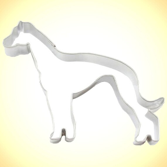 greyhound  Cookie Cutter. dog racing race track, grayhound, grey hound