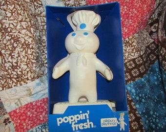 Vintage POPPIN FRESH Pillsbury Doll Mint in Original Box Advertising Toy