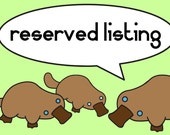 Reserved listing for Krizzistin