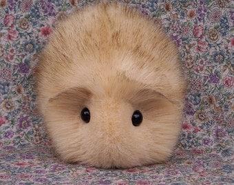 Blonde Toy Guinea Pig Cute Handmade Plushie