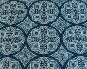 Blue Mosaic Towel Pants