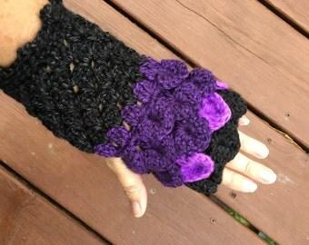 Fingerless Gloves Dragonscale