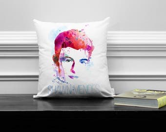 Shawn Mendes Decorative Pillow, Treat You Better, Stitches, Mercy Singer, Folk Pop, Music Collectibles, Memorabilia
