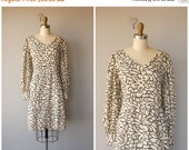 25% OFF HOLIDAY SALE... Vintage 60s Dress | 1960s Dress | 60s Day Dress | 1960s Party Dress | 60s Printed Dress | Mod 60s Dress