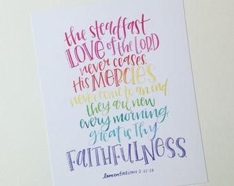 Lamentations 3:22-23 PRINT