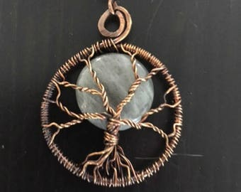 Labradorite Full Moon Tree of Life