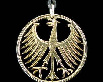 Cut Coin Jewelry - Pendant - Germany - Eagle