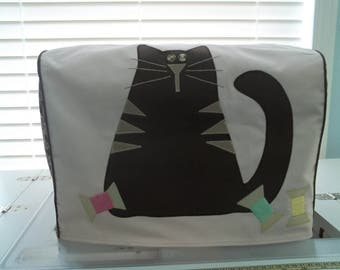 Light Pink Cat Sewing Machine Cover
