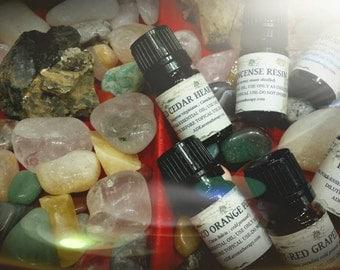 Sorcerer Essential Oil Blend. 5 ML. Over a dozen magickal oils.