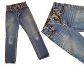 Vintage Levis 701 Denim Jeans 70s Womens 501s High Waist Jeans Faded Levi 701 Button Fly Jeans Levi 501s Vintage Levi Jeans 26 Waist XS