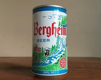 Vintage Bergheim Beer Can.