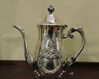 Leonard Silver Plate Coffee/Teapot