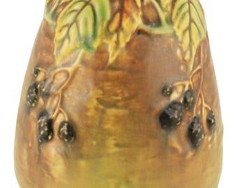 Roseville Pottery Blackberry Vase 569-5