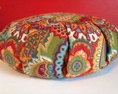 Zafu Meditation Cushion with Buckwheat Hulls