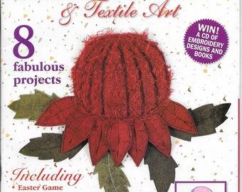 Creative Machine Embroidery & Textile Art Magazine