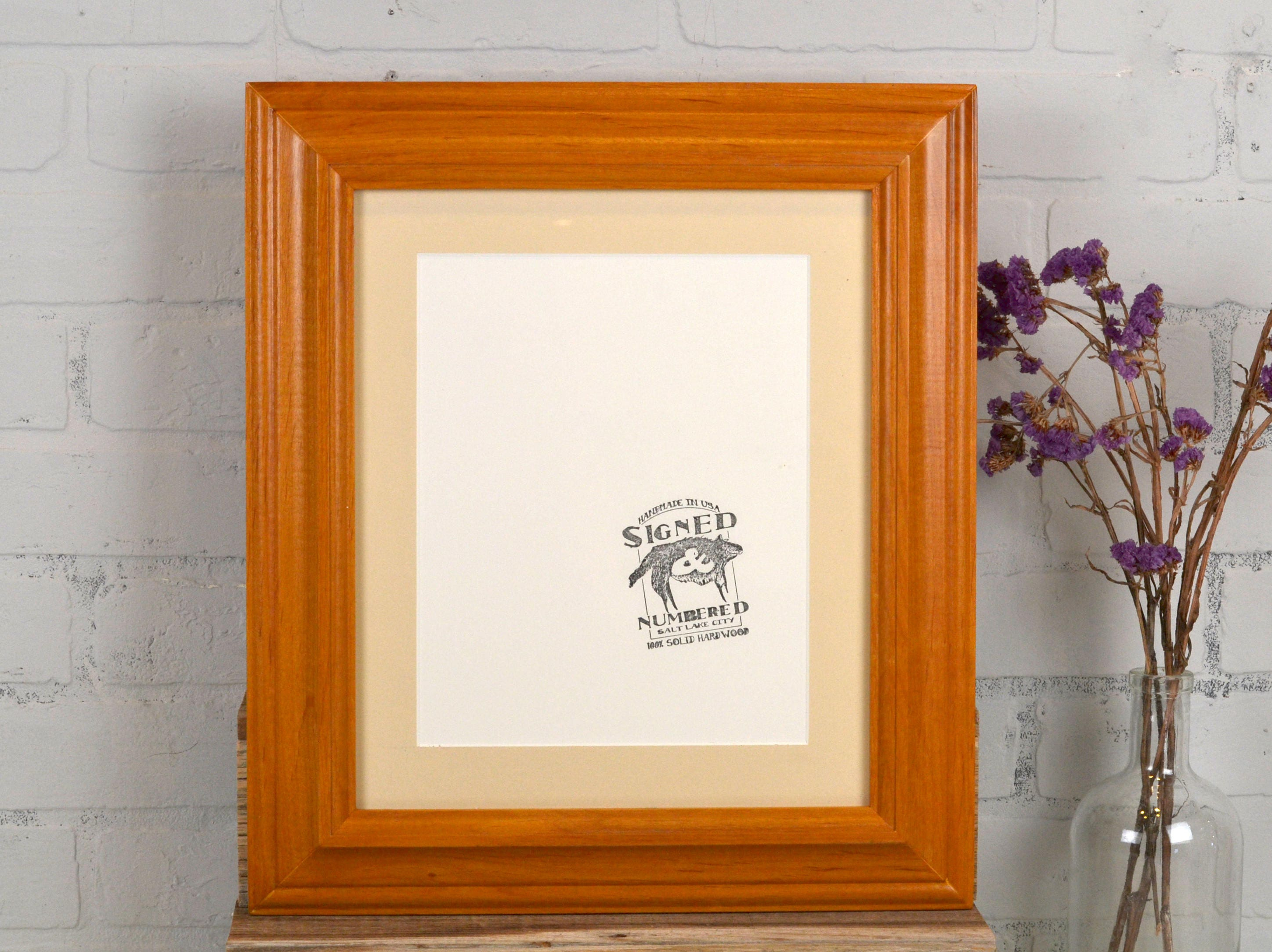Handmade 11x13 Quot Picture Frame In Mulder Style With Solid