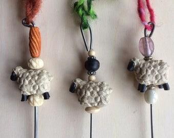 Spinning Wheel Sheepy Orifice Hook