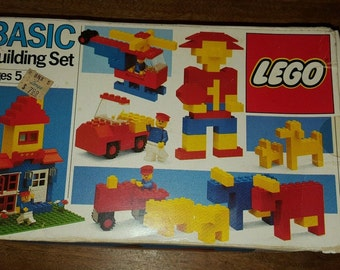 1985 Vintage LEGO LEGOS Set #520 Basic Universal Building 168pcs Sealed Bags