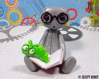 Book Worm Robot