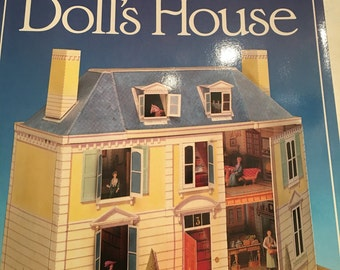 Doll House Models ~ Usborne cut outs models ~ Paper Houses ~ Paper Dolls ~ Craft Books ~ Vintage Craft Books