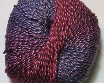 Knitting Fever Painted Sky Yarn #223 Pinot Noir Superwash Wool Self Striping