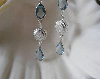 Sun Earrings,Moon Face Earrings