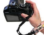 vintage camera THIN Wrist Strap .. Quick Release Pick your color