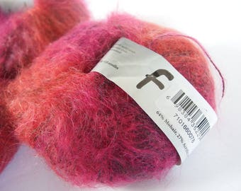 Fusion Sunset Mohair Blend Yarn by Reynolds 78