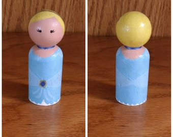 Peg People: Cinderella