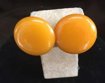 Vintage bakelite earrings