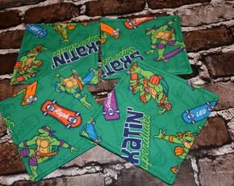 TMNT Teenage Mutant Ninja Turtles Coasters