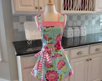 Raspberry Jam ~ Annie Style ~  Women's Cute Retro Apron ~ 4RetroSisters