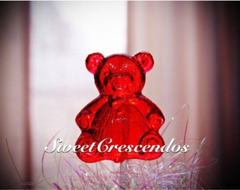 TEDDY BEAR Lollipops- Old Fashioned Hard Candy