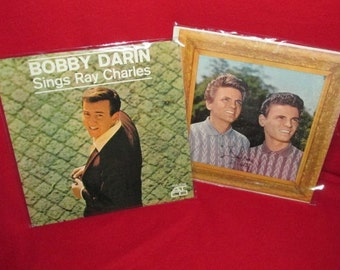 Two Vintage Albums, Bobby Darin & Everly Brothers